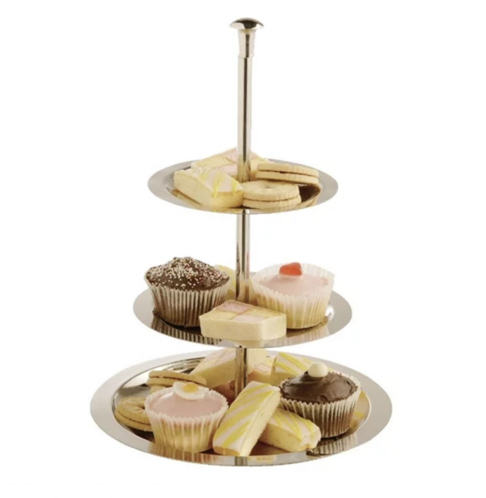 3 TIER CUPCAKE STAND HIRE TELFORD